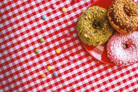 Фото бесплатно пончики, конфеты, кондитерские изделия
