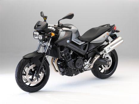 Фото бесплатно мотоцикл, BMW мотоцикл, серый