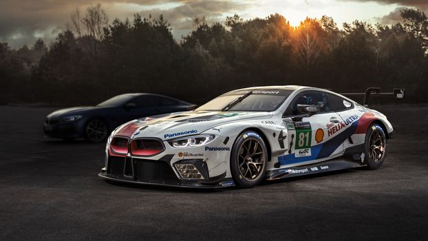Photo free Bmw M8, Bmw M8 Gte, 2018 cars