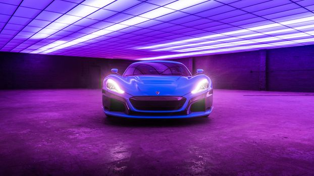 Photo free Rimac, Rimac C Two, 2018 cars