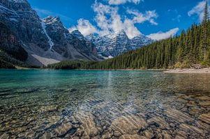 Заставки Луизы,озеро,гора,канада,louise,lake,mountains