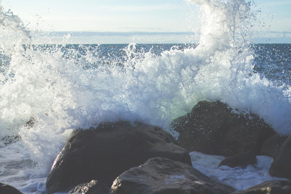 Фото берег погода волнорез - бесплатные картинки на Fonwall