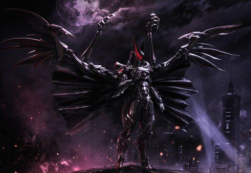 Photo free Batman, superheroes, armor