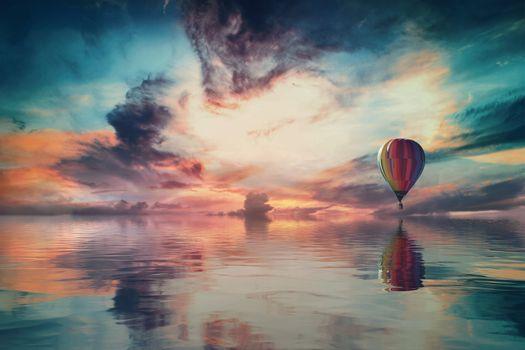 Фото бесплатно пейзаж, фэнтези, небо