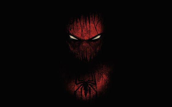 Фото бесплатно Человек-паук, злые глаза, супергерои