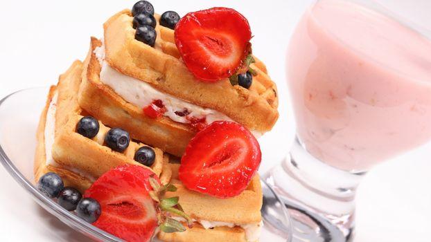 Фото бесплатно Вена, крем, ягода