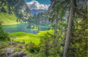 Фото бесплатно Швейцария, Берн, Hinterstockensee