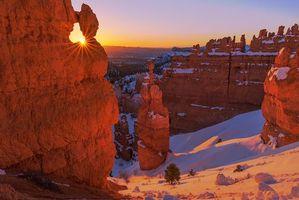 Фото бесплатно Bryce Canyon National Park, закат, горы