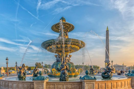 Photo free Paris, Fountain, Place de la Concorde