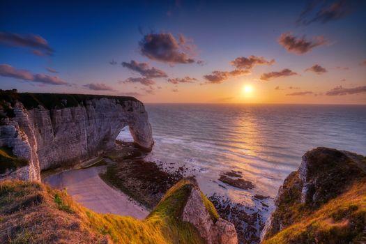 Фото бесплатно Франция, Нормандия, Этрета
