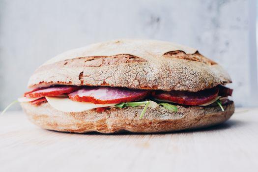 Фото бесплатно продукт, сэндвич, мясо