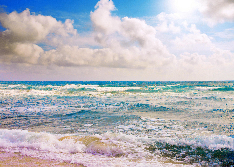 Обои море, пляж, волны