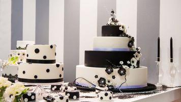 Фото бесплатно svadba, tort, ukrashenie