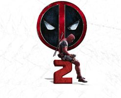 Photo free Deadpool, Deadpool 2, minimalism