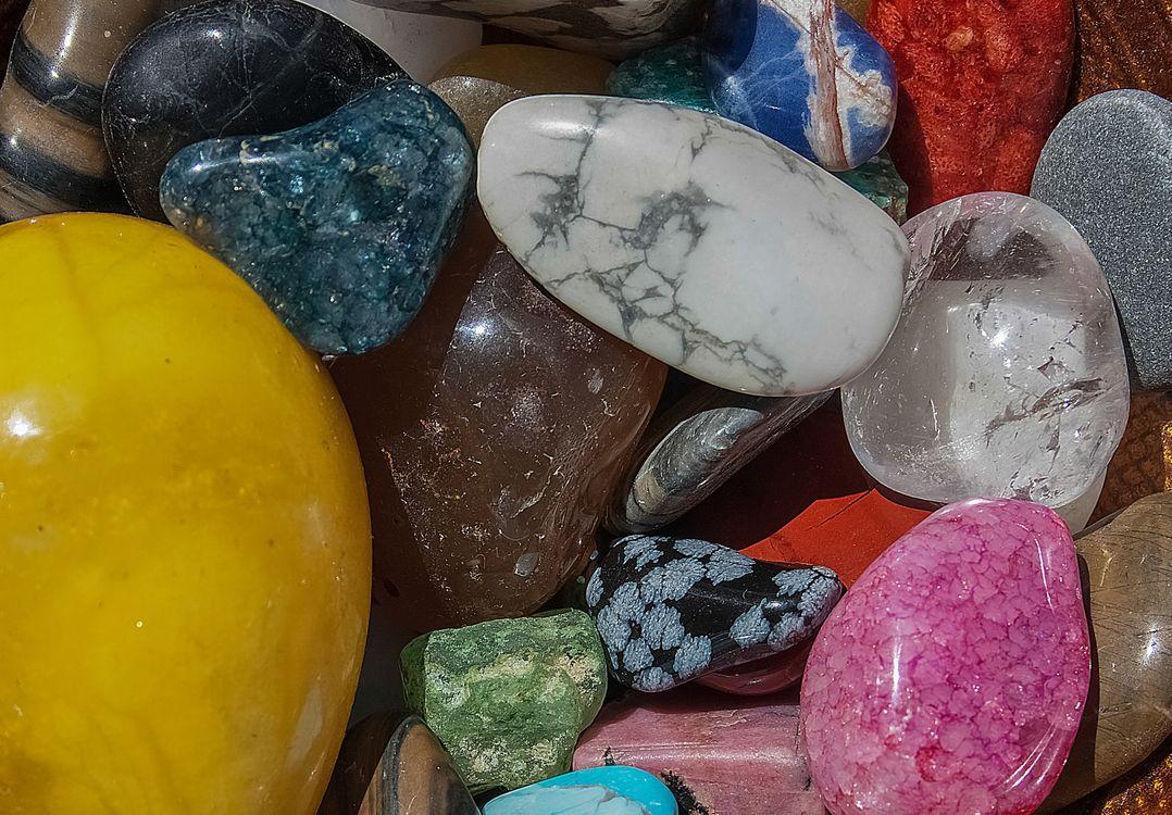 Фото бесплатно камни, разноцветные, минералы - на рабочий стол