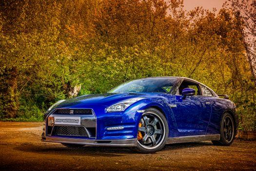Photo free Nissan GT-R Track edition, car, cars