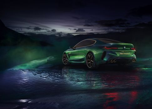 Photo free Bmw Concept M8 Gran Coupe, BMW, 2018 cars