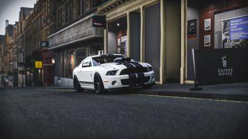 Фото бесплатно Форд Мустанг Шелби GT500, улица, гоночные авто
