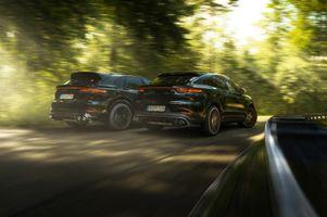 Фото бесплатно Porsche Cayenne, Porsche, автомобили