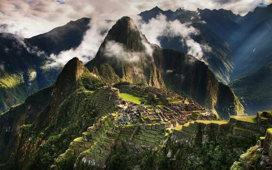 Photo free nature, terrain, mountains