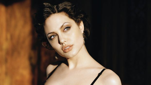 Заставки Angelina Jolie, знаменитости, девушки