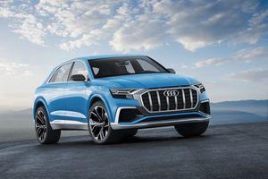 Photo free Audi Q8, Audi, Concept Cars