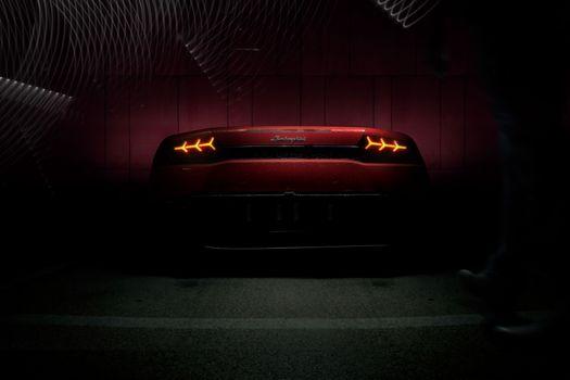 Фото бесплатно Lamborghini Huracan, Behance, Cars