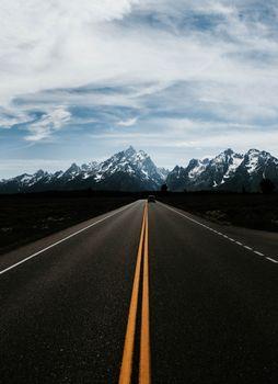 Бесплатные фото горы,дорога,разметка,авто,движение,mountains,road,marking,auto,movement