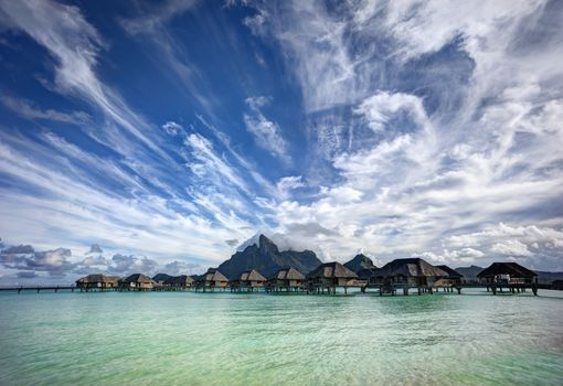 Photo free Bora Bora, sea, ocean