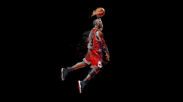 Photo free michael jordan, basketball, artwork