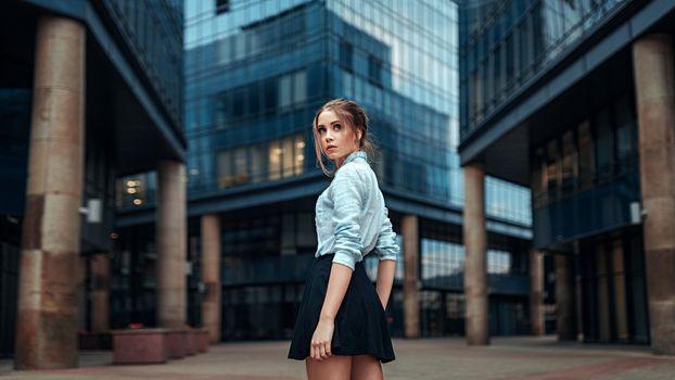 Фото бесплатно Ксения Кокорева, модель, юбка