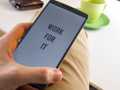 Фото бесплатно смартфон, рука, кафе
