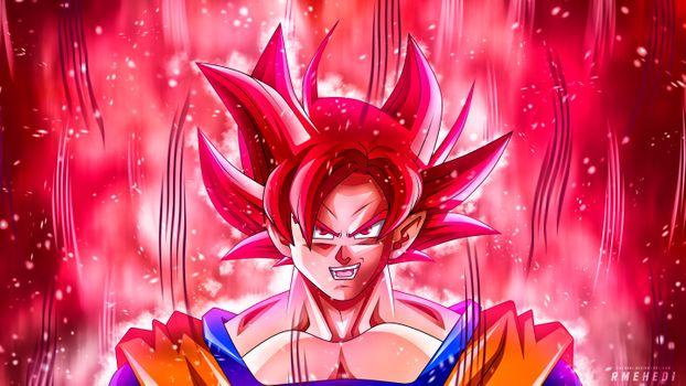 Фото бесплатно Goku, Anime, Artist