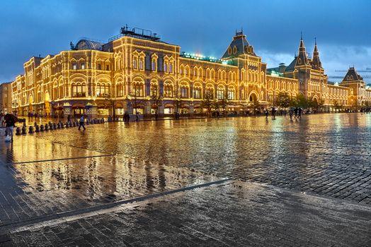 Заставки ГУМ, Москва, Россия