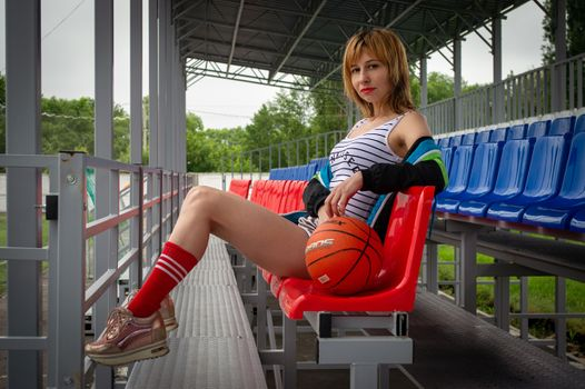 Photo free woman, Victoria Borodinova, legs