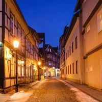 Фото бесплатно Town Hall, Wernigerode, Германия, Вернигероде, город, ночь, огни, иллюминация, улица