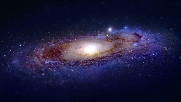 Фото бесплатно туманность, звезды, ядро