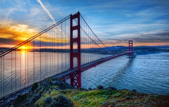 Фото бесплатно пейзажи, небо, Сан-Франциско