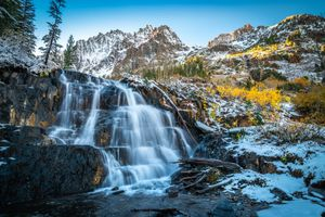 Фото бесплатно штаты сша, водопады, утес США