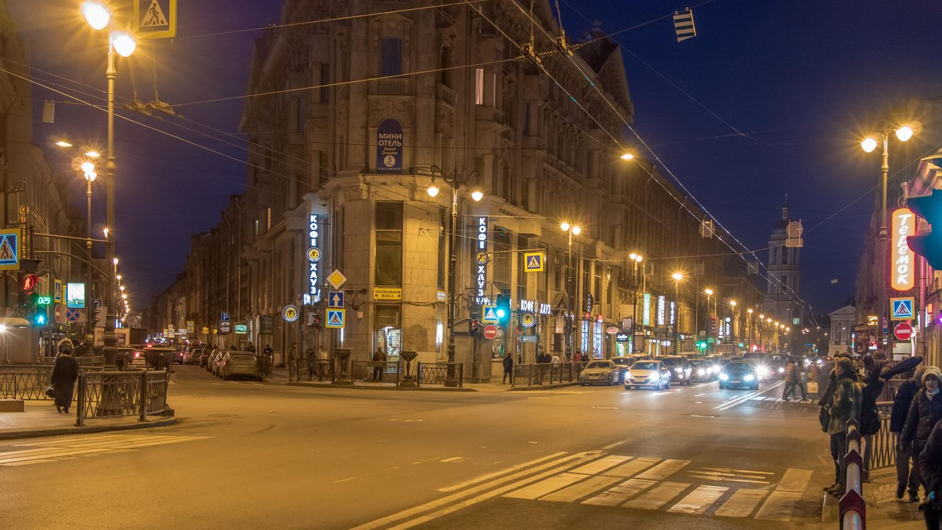 Фото бесплатно Пять углов, Санкт-Петербург - на рабочий стол