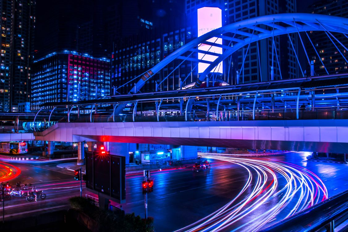 Фото бесплатно Бангкок, Таиланд, мост - на рабочий стол