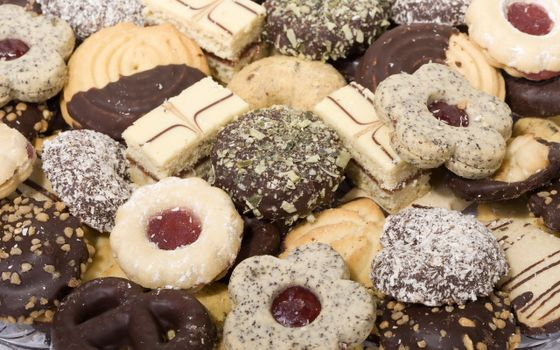 Photo free biscuits, chocolate, delicious