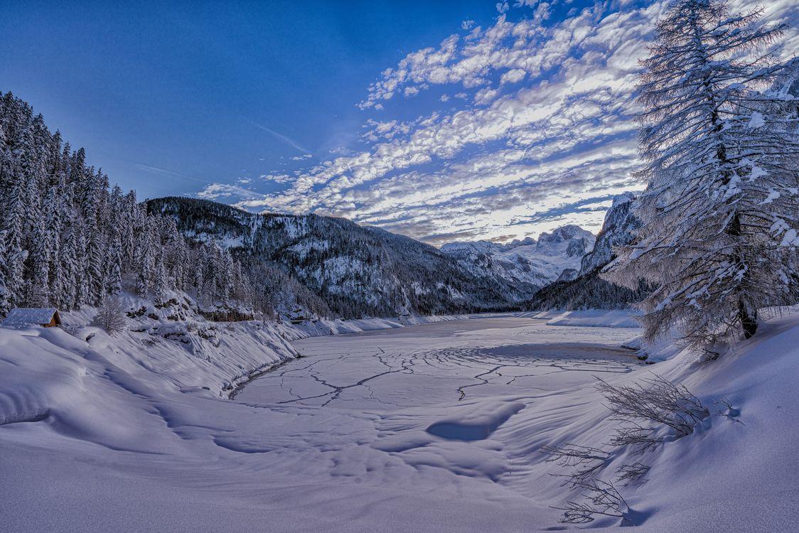 Фото бесплатно Austria, зима, горы - на рабочий стол