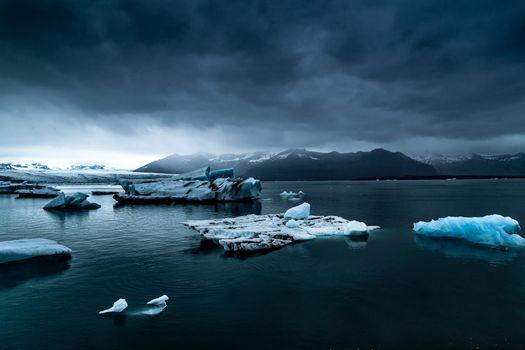 Фото бесплатно Исландия, шторм, тучи