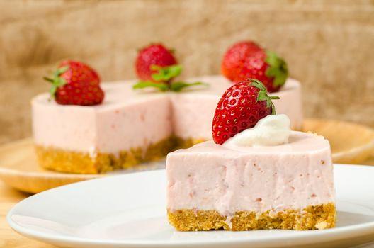 Photo free cream, strawberry, pastry