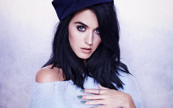 Photo free Katy Perry, celebrities, black hair