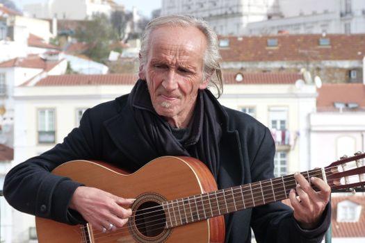 Photo free man, music, guitar