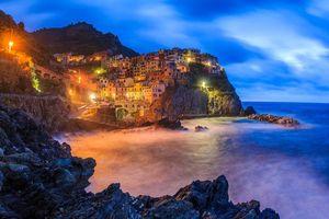 Фото бесплатно огни, Италия, Чинкве-Терре