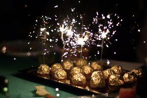 Бесплатные фото шоколад,праздник,новый год,