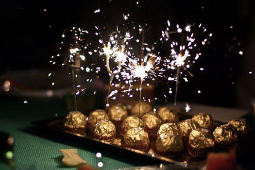 Заставки шоколад,праздник,новый год,